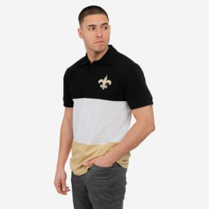 New Orleans Saints Rugby Scrum Polo - XL
