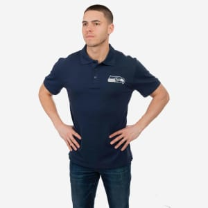 Seattle Seahawks Casual Color Polo - 2XL