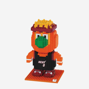Burnie Miami Heat BRXLZ Mascot