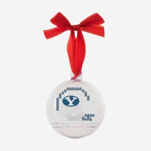 BYU Cougars BRXLZ Helmet Ball Ornament