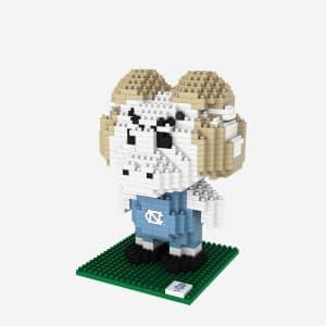 Rameses North Carolina Tar Heels BRXLZ Mascot