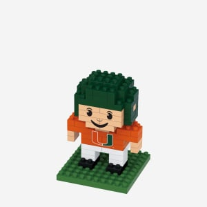 Miami Hurricanes BRXLZ Mini Player