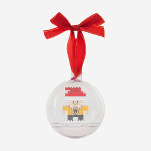 Boston Bruins BRXLZ Mini Player Ball Ornament
