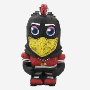Tommy Hawk Chicago Blackhawks Eekeez Mascot Figurine