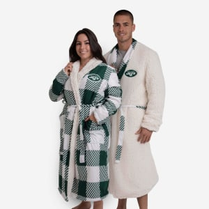 New York Jets Lounge Life Reversible Robe
