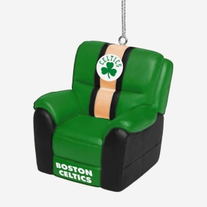 Boston Celtics Reclining Chair Ornament