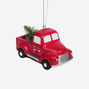 Chicago Bulls Truck With Tree Ornament