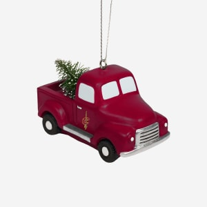 Cleveland Cavaliers Truck With Tree Ornament