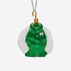 Boston Celtics Varsity Jacket Ornament