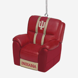Indiana Hoosiers Reclining Chair Ornament