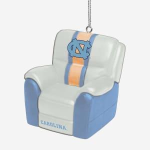 North Carolina Tar Heels Reclining Chair Ornament