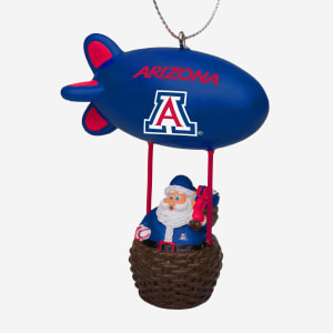 Arizona Wildcats Santa Blimp Ornament