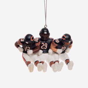 Chicago Bears 3 Player Team Celebration Ornament