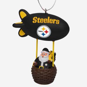 Pittsburgh Steelers Santa Blimp Ornament