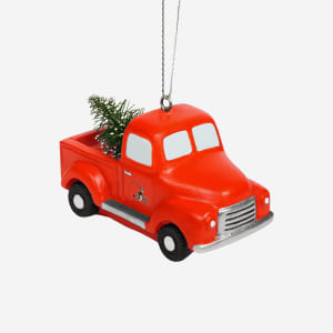 Cleveland Browns Truck With Tree Ornament
