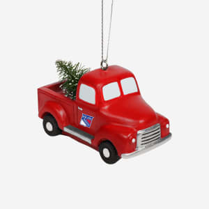 New York Rangers Truck With Tree Ornament