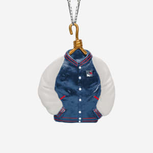 New York Rangers Varsity Jacket Ornament