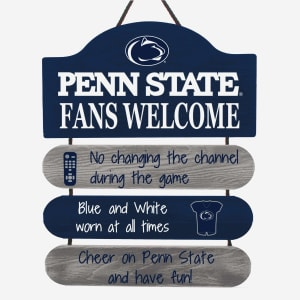 Penn State Nittany Lions Mancave Sign