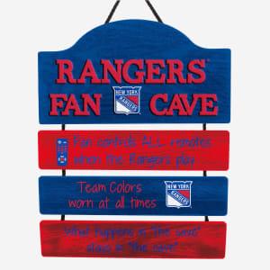New York Rangers Mancave Sign
