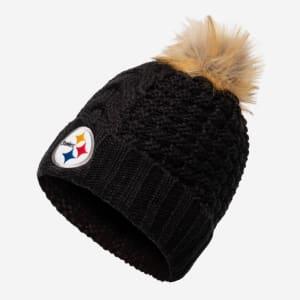 Pittsburgh Steelers Womens Da Pom Beanie