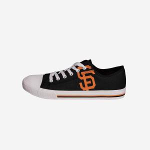 San Francisco Giants Mens Low Top Big Logo Canvas Shoe - 9