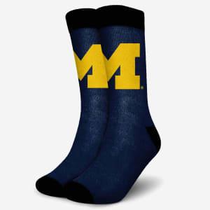 Michigan Wolverines Primetime Socks - S/M