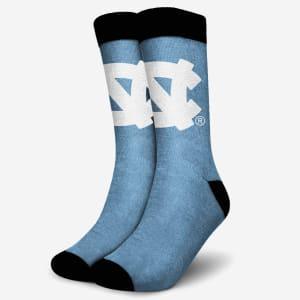 North Carolina Tar Heels Primetime Socks - S/M