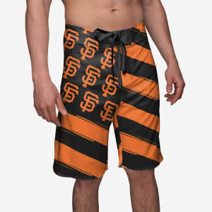 San Francisco Giants Diagonal Flag Boardshorts - S