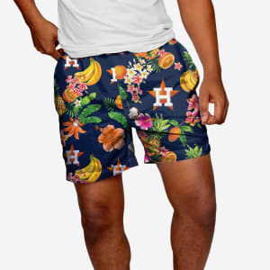 "Houston Astros Fruit Life 5.5"" Swimming Trunks - XL"