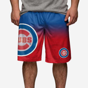 Chicago Cubs Gradient Big Logo Training Short - XL