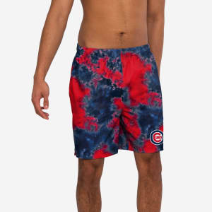 Chicago Cubs To Tie-Dye For Swimming Trunks - L