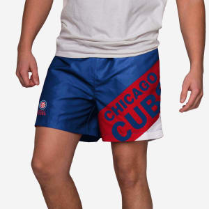 """Chicago Cubs Big Logo 5.5"""" Swimming Trunks - XL"""