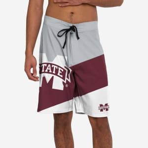 Mississippi State Bulldogs Color Dive Boardshorts - 2XL