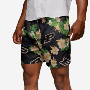 Purdue Boilermakers Floral Swimming Trunks