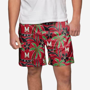 Maryland Terrapins Tropical Swimming Trunks - XL