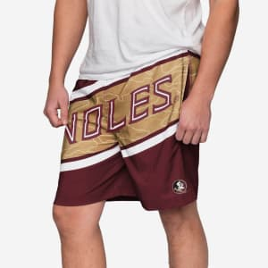 Florida State Seminoles Big Wordmark Swimming Trunks - XL
