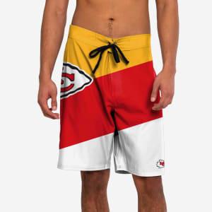 Kansas City Chiefs Color Dive Boardshorts - L