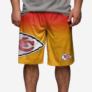 Kansas City Chiefs Gradient Big Logo Training Short - L