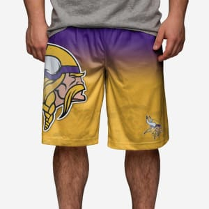 Minnesota Vikings Gradient Big Logo Training Short - M