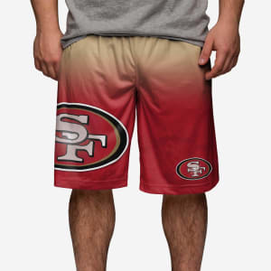 San Francisco 49ers Gradient Big Logo Training Short - S