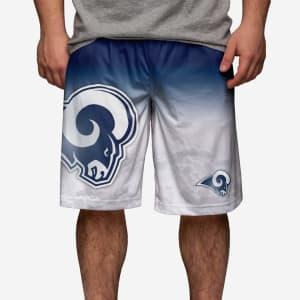 Los Angeles Rams Gradient Big Logo Training Short - 2XL