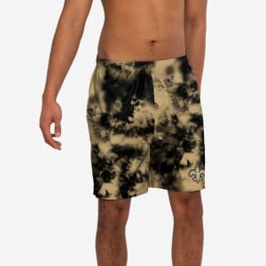 New Orleans Saints To Tie-Dye For Swimming Trunks - M