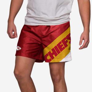 "Kansas City Chiefs Big Logo 5.5"" Swimming Trunks - M"