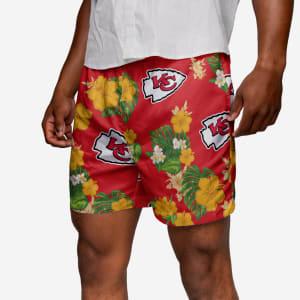 Kansas City Chiefs Floral Swimming Trunks - 2XL