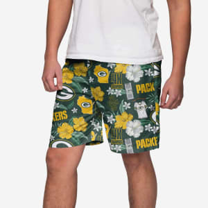 Green Bay Packers City Style Swimming Trunks - M