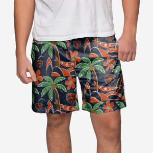 Chicago Bears Tropical Swimming Trunks - L