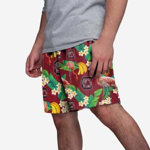 South Carolina Gamecocks Floral Shorts - XL