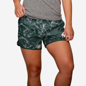 Michigan State Spartans Womens Island Vibes Shorts - S