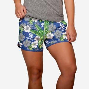 Kentucky Wildcats Womens Tropical Breeze Shorts - L