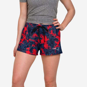 New England Patriots Womens To Tie-Dye For Lounge Shorts - XL
